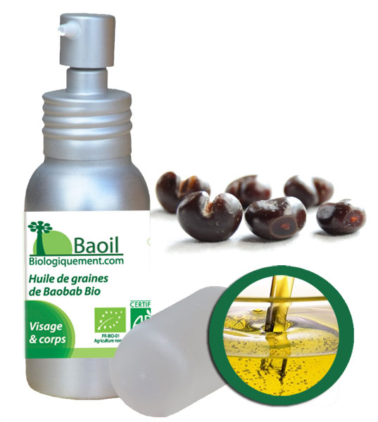 Baoil l'huile de baobab bio antioxydante